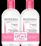 Acheter CREALINE TS H2O Solution micellaire sans parfum nettoyante apaisante 2Fl/500ml à BARENTIN